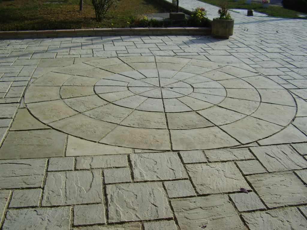 Paving stone: Antique 45